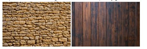 Decoreren grote muur